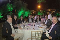 Dinner Gathering at Edde Sands celebrating the 10th anniversary of Cooperation with Eurocross Assistance