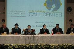 Launching ceremony of Call Centers in Lebanon